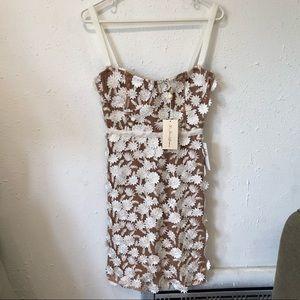 NWT For Love and Lemons FL&L Flower Mini Dress S